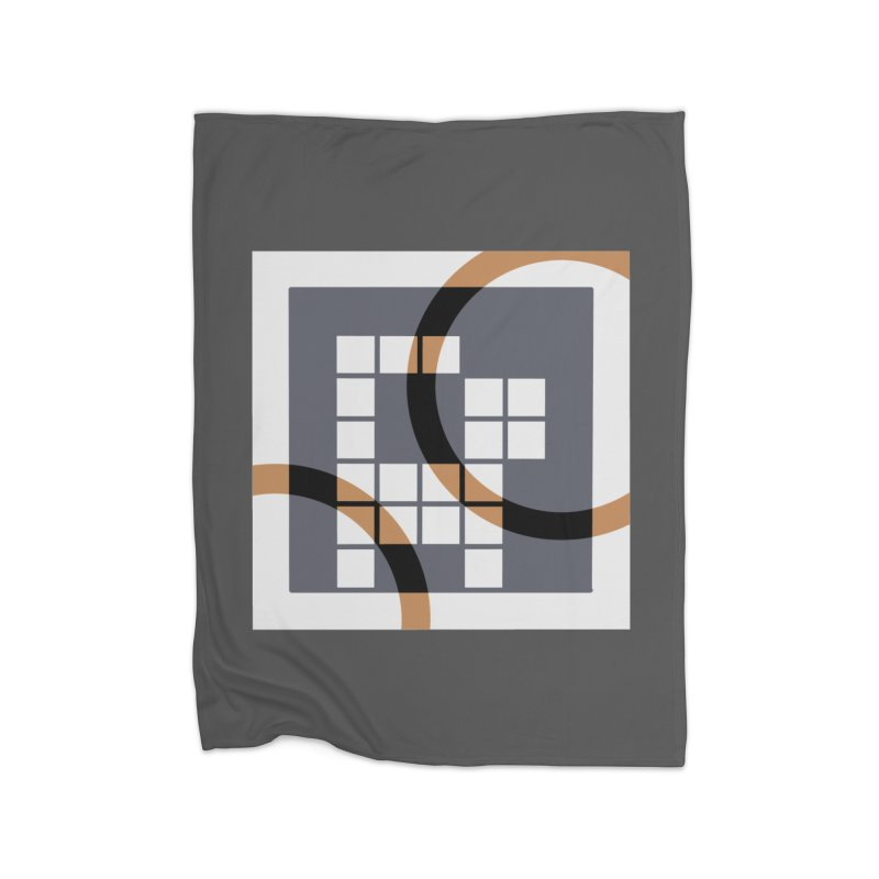 Calico Crossword Cat Home Blanket by deantrippe's Artist Shop
