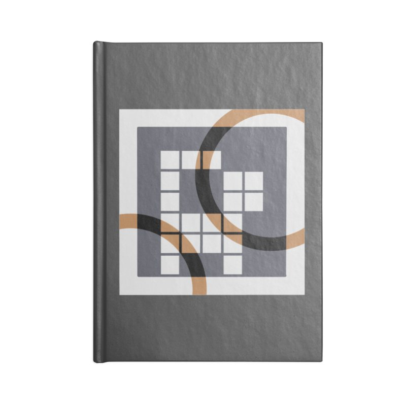 Calico Crossword Cat Accessories Notebook by deantrippe's Artist Shop