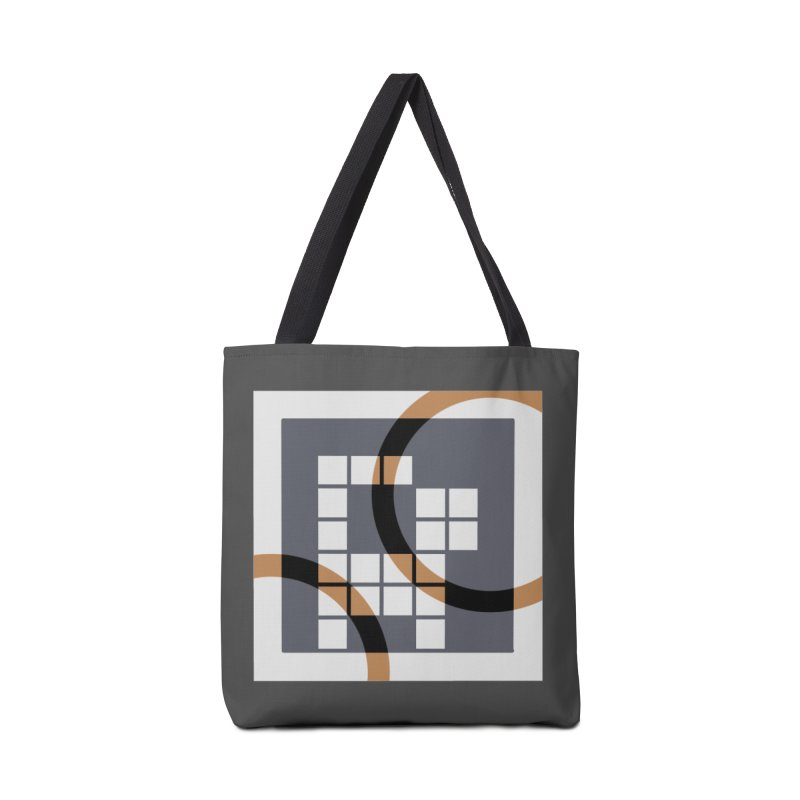 Calico Crossword Cat Accessories Bag by deantrippe's Artist Shop