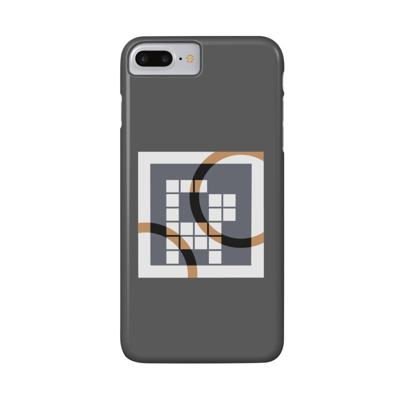 Calico Crossword Cat Accessories Phone Case by deantrippe's Artist Shop