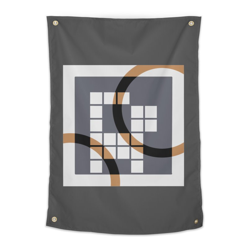 Calico Crossword Cat Home Tapestry by deantrippe's Artist Shop