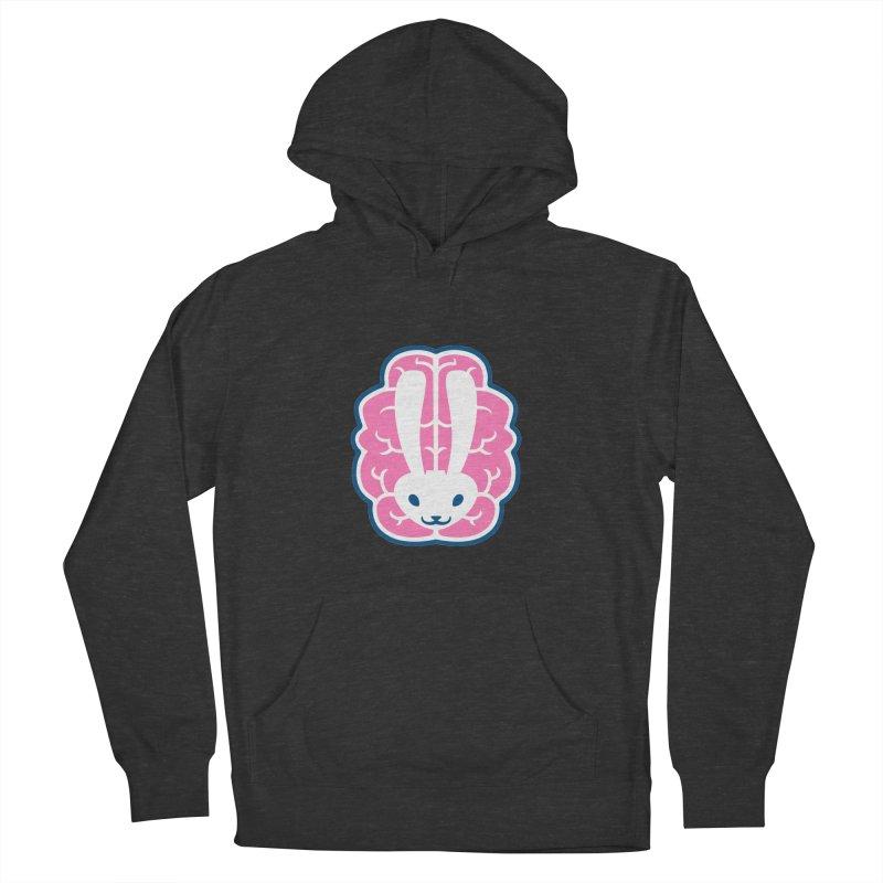 Bubblegum Brain Bunny Women's Pullover Hoody by deantrippe's Artist Shop