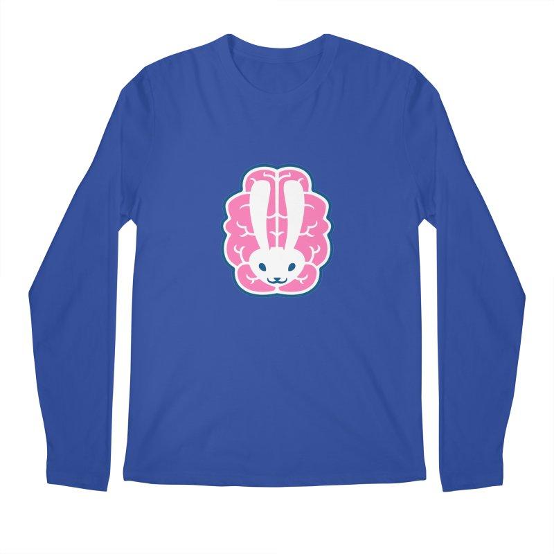 Bubblegum Brain Bunny Men's Longsleeve T-Shirt by deantrippe's Artist Shop