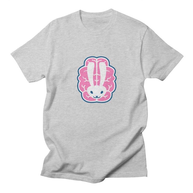 Bubblegum Brain Bunny Men's T-Shirt by deantrippe's Artist Shop