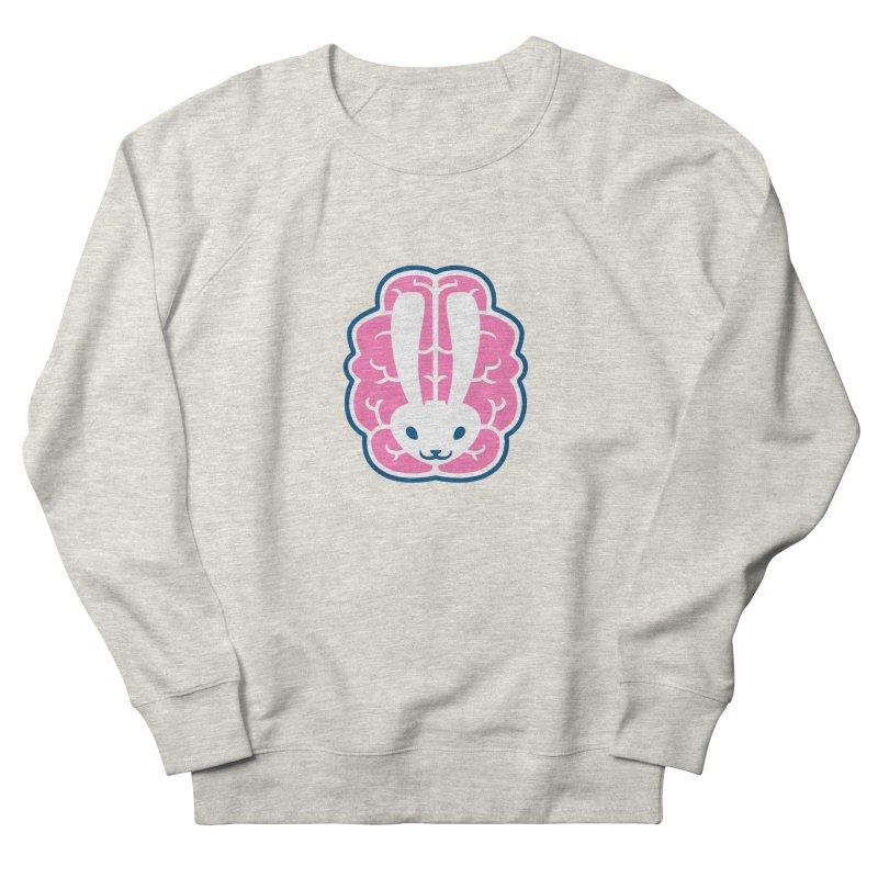 Bubblegum Brain Bunny Women's Sweatshirt by deantrippe's Artist Shop