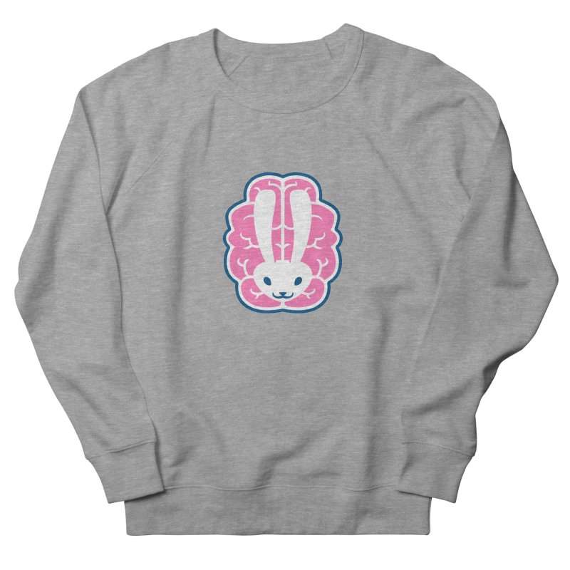 Bubblegum Brain Bunny Men's Sweatshirt by deantrippe's Artist Shop
