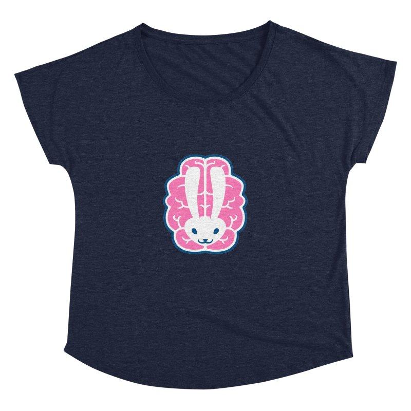 Bubblegum Brain Bunny Women's Dolman by deantrippe's Artist Shop