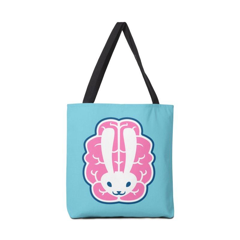 Bubblegum Brain Bunny Accessories Bag by deantrippe's Artist Shop