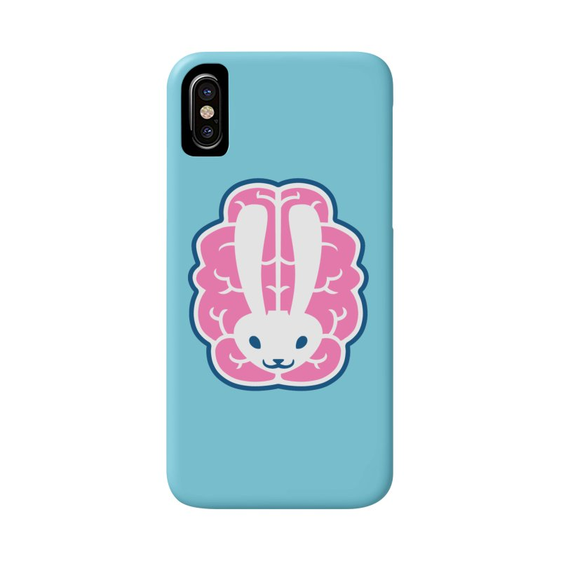 Bubblegum Brain Bunny Accessories Phone Case by deantrippe's Artist Shop