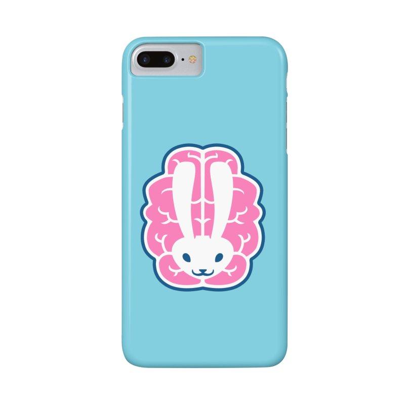 Bubblegum Brain Bunny Accessories Phone Case by deantrippe's Artist Shop