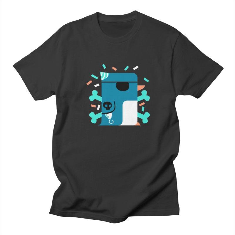 Party Pirate Penguin Men's T-Shirt by deantrippe's Artist Shop