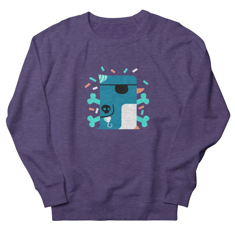 Party Pirate Penguin Men's Sweatshirt by deantrippe's Artist Shop