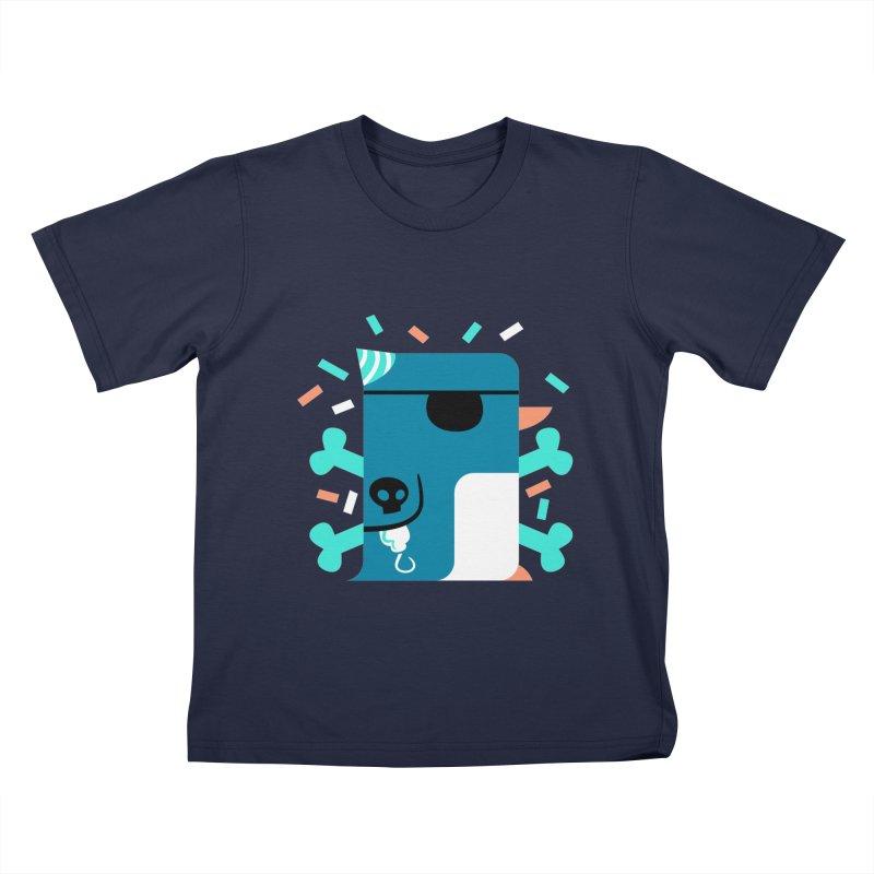 Party Pirate Penguin Kids T-shirt by deantrippe's Artist Shop