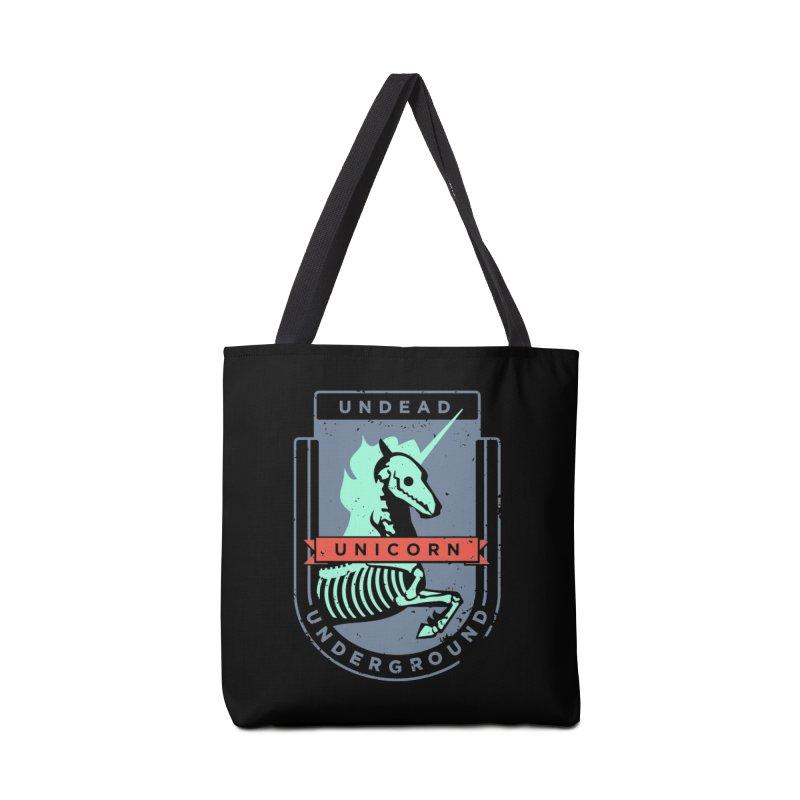 Undead Unicorn Underground Accessories Bag by deantrippe's Artist Shop