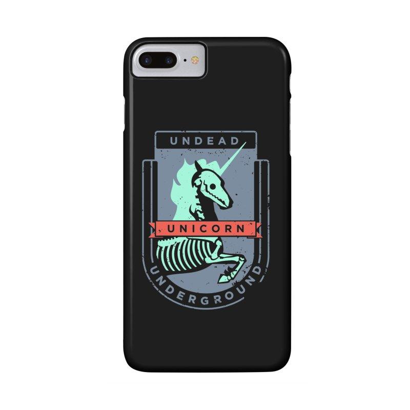 Undead Unicorn Underground Accessories Phone Case by deantrippe's Artist Shop
