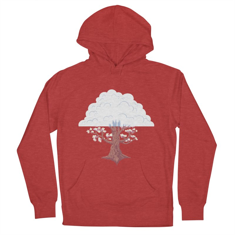 The Fogwood Tree Men's French Terry Pullover Hoody by deantrippe's Artist Shop