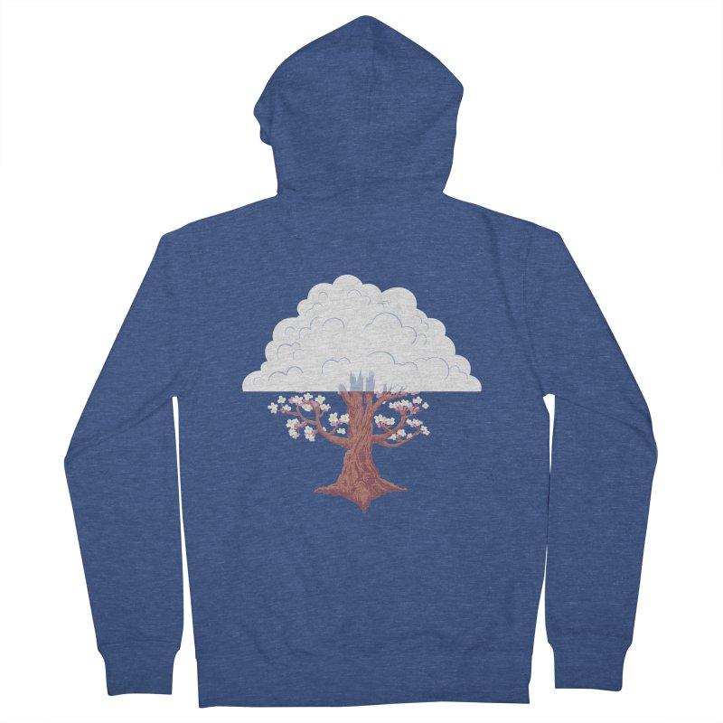 The Fogwood Tree Women's Zip-Up Hoody by deantrippe's Artist Shop