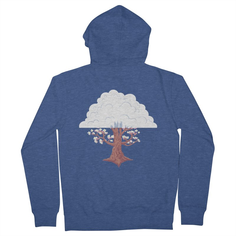 The Fogwood Tree Men's Zip-Up Hoody by deantrippe's Artist Shop