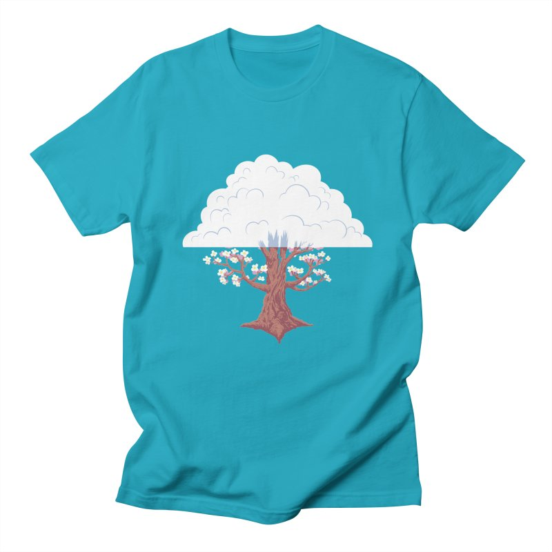The Fogwood Tree Men's T-shirt by deantrippe's Artist Shop