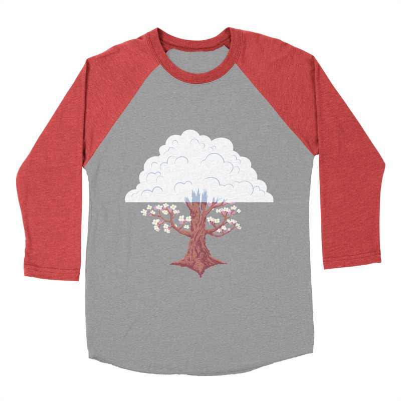 The Fogwood Tree Women's Baseball Triblend T-Shirt by deantrippe's Artist Shop