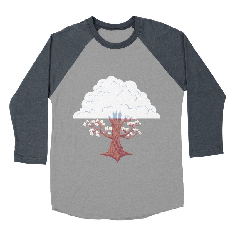The Fogwood Tree Women's Baseball Triblend T-Shirt by deantrippe's Artist Shop