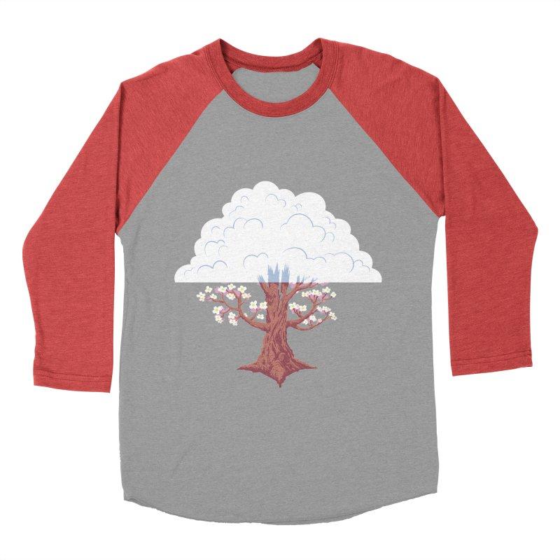 The Fogwood Tree Men's Baseball Triblend T-Shirt by deantrippe's Artist Shop