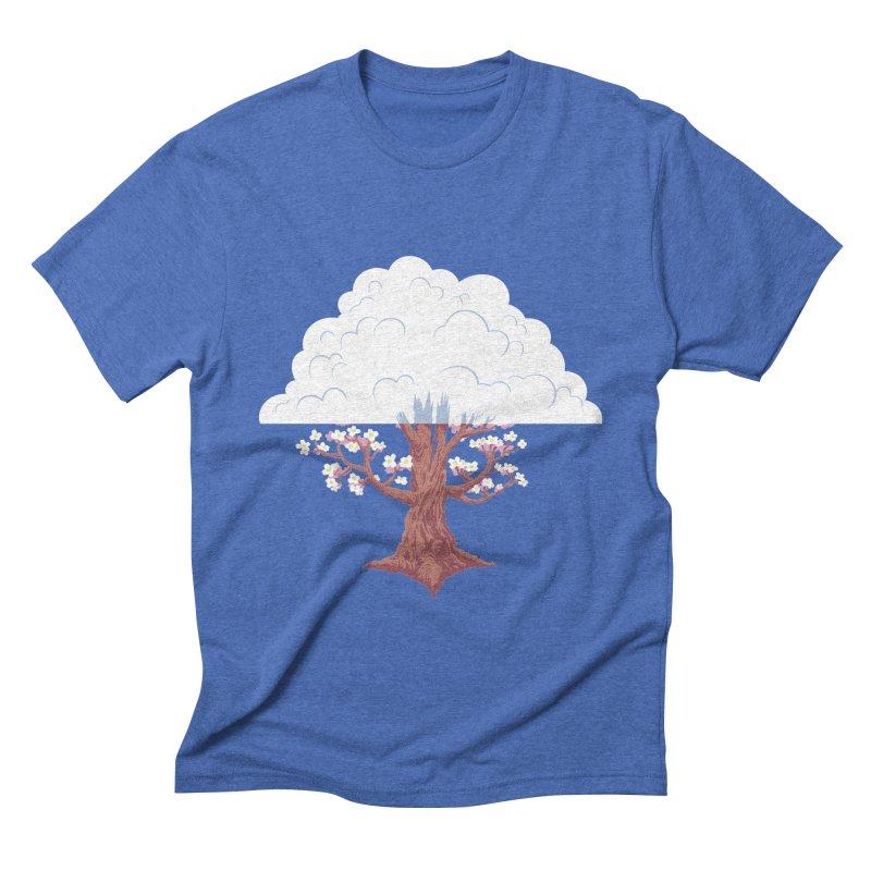 The Fogwood Tree Men's Triblend T-shirt by deantrippe's Artist Shop