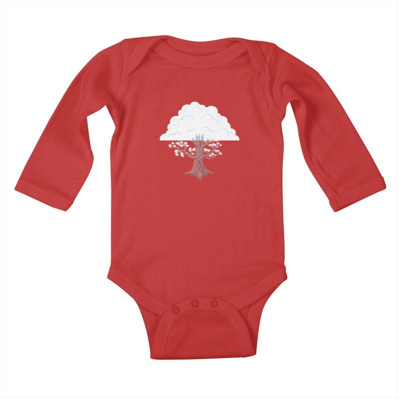 The Fogwood Tree Kids Baby Longsleeve Bodysuit by deantrippe's Artist Shop