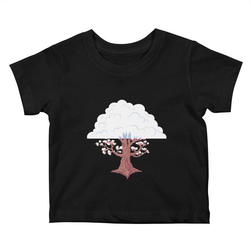 The Fogwood Tree Kids Baby T-Shirt by deantrippe's Artist Shop