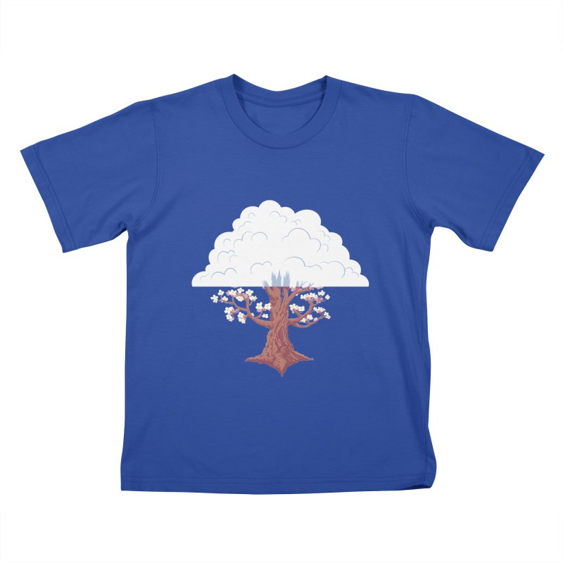 The Fogwood Tree Kids T-shirt by deantrippe's Artist Shop