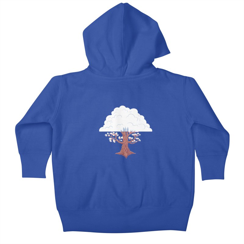 The Fogwood Tree Kids Baby Zip-Up Hoody by deantrippe's Artist Shop