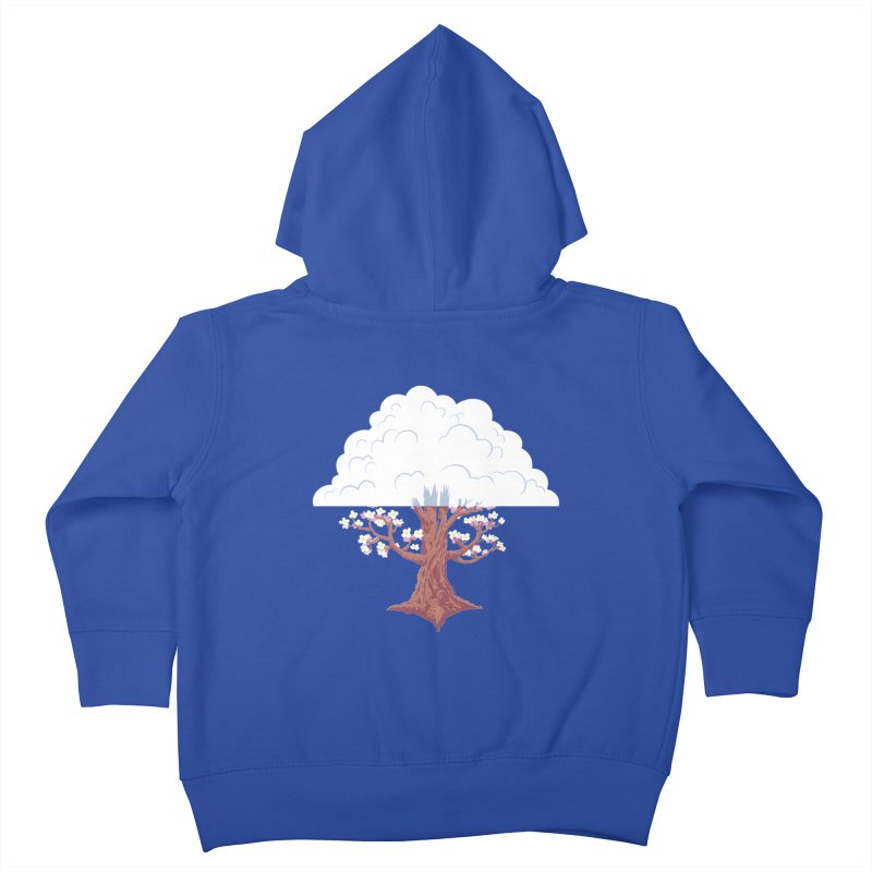 The Fogwood Tree Kids Toddler Zip-Up Hoody by deantrippe's Artist Shop