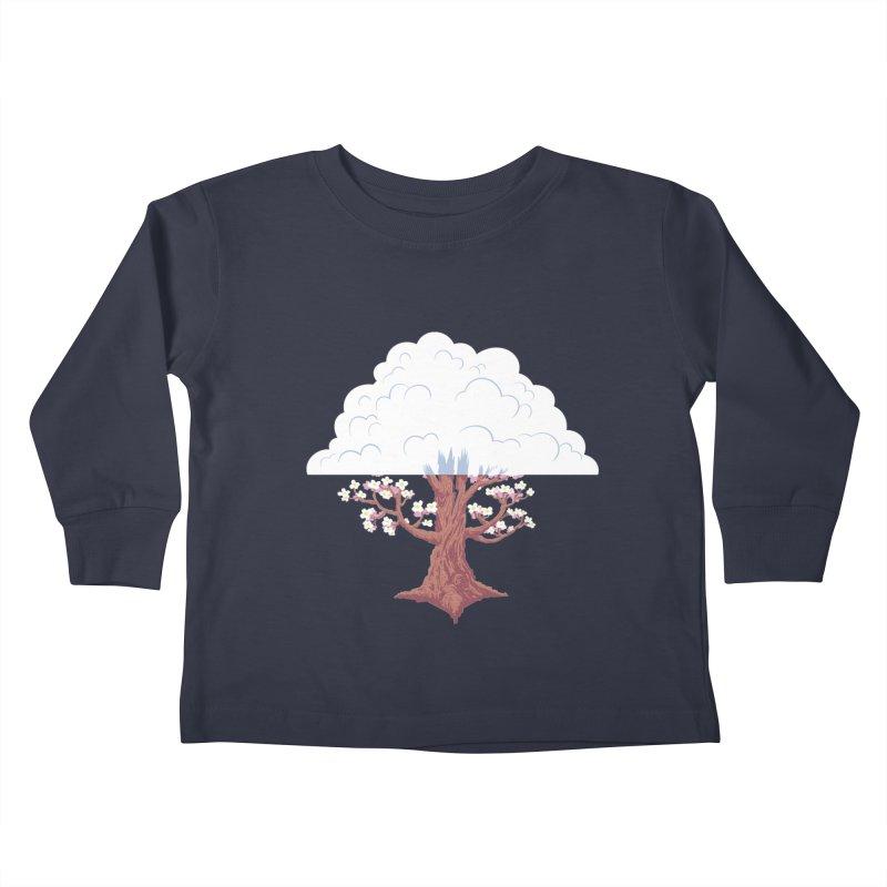 The Fogwood Tree Kids Toddler Longsleeve T-Shirt by deantrippe's Artist Shop