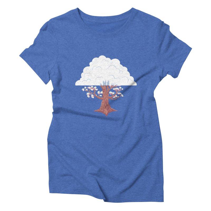 The Fogwood Tree Women's Triblend T-Shirt by deantrippe's Artist Shop