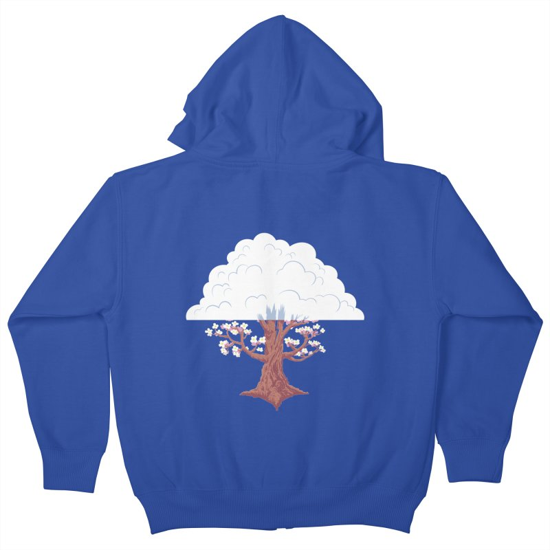 The Fogwood Tree Kids Zip-Up Hoody by deantrippe's Artist Shop