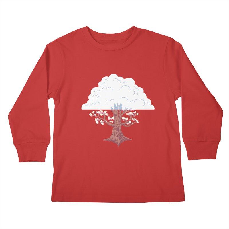 The Fogwood Tree Kids Longsleeve T-Shirt by deantrippe's Artist Shop