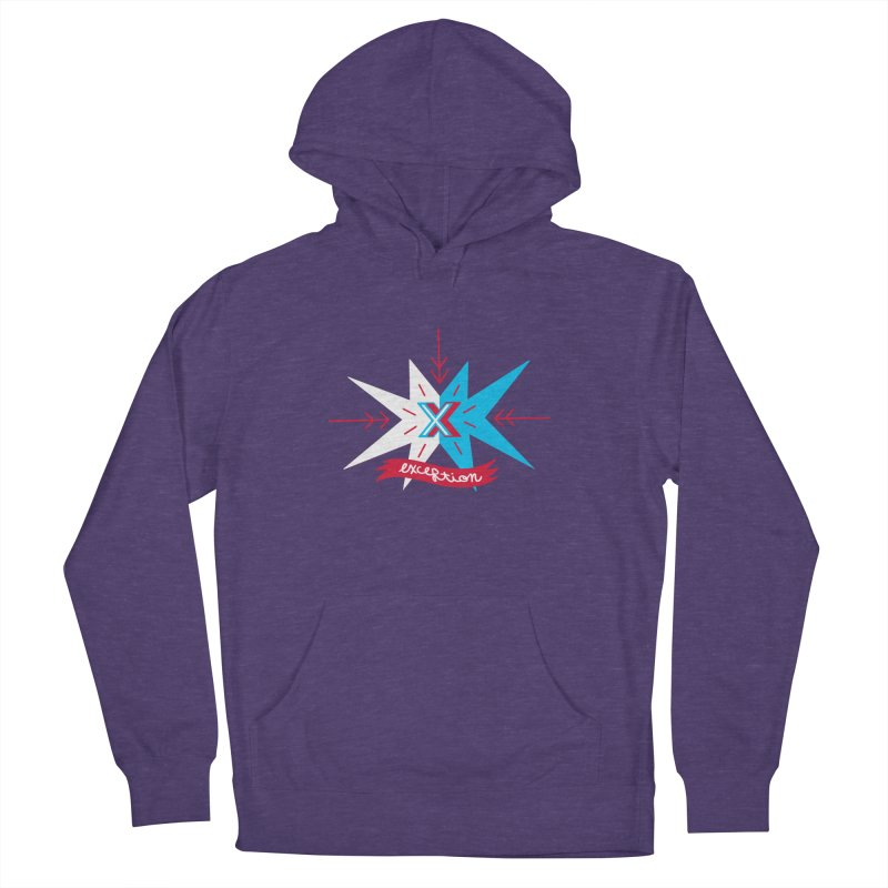 Exception Women's Pullover Hoody by deantrippe's Artist Shop