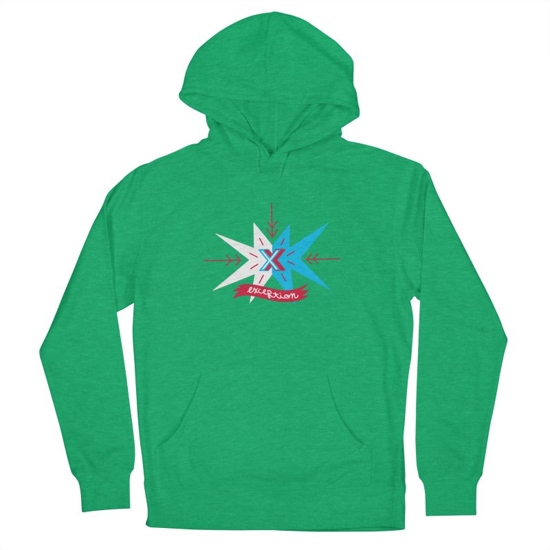 Exception Men's Pullover Hoody by deantrippe's Artist Shop