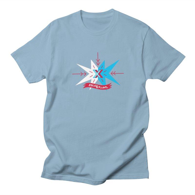 Exception Men's T-shirt by deantrippe's Artist Shop