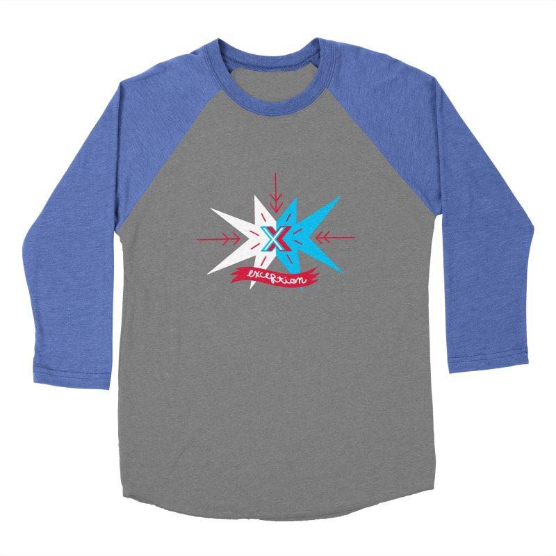 Exception Women's Baseball Triblend T-Shirt by deantrippe's Artist Shop