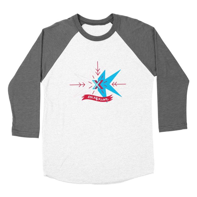 Exception Men's Baseball Triblend T-Shirt by deantrippe's Artist Shop