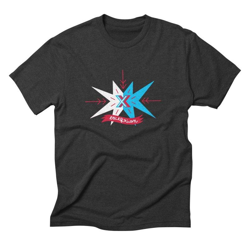 Exception Men's Triblend T-shirt by deantrippe's Artist Shop