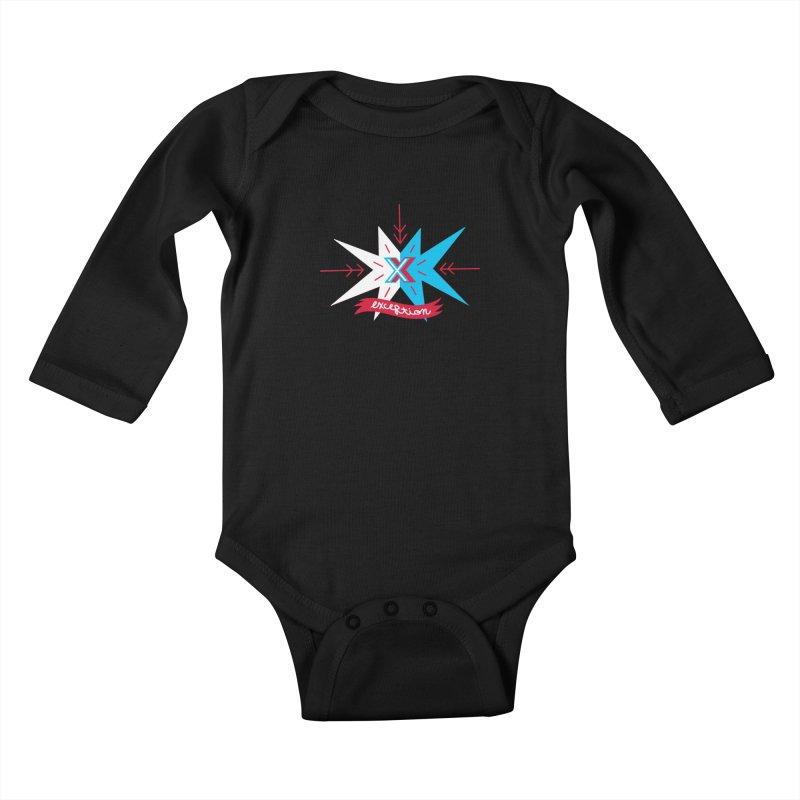Exception Kids Baby Longsleeve Bodysuit by deantrippe's Artist Shop