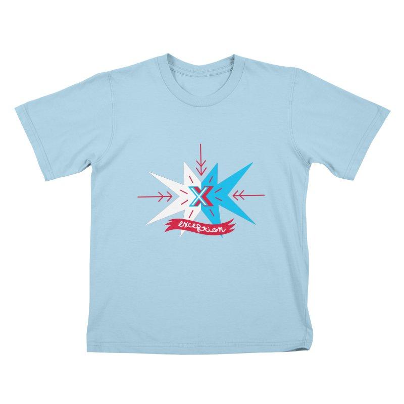 Exception Kids T-shirt by deantrippe's Artist Shop