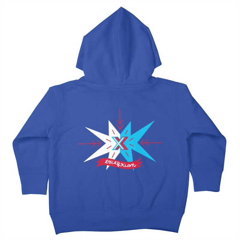 Exception Kids Toddler Zip-Up Hoody by deantrippe's Artist Shop