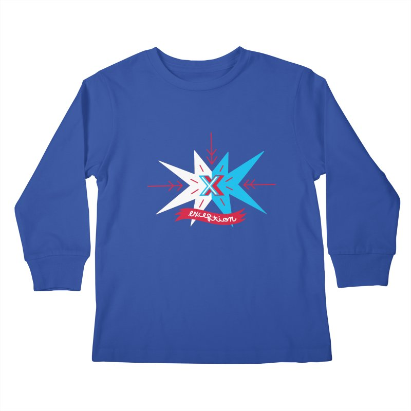 Exception Kids Longsleeve T-Shirt by deantrippe's Artist Shop