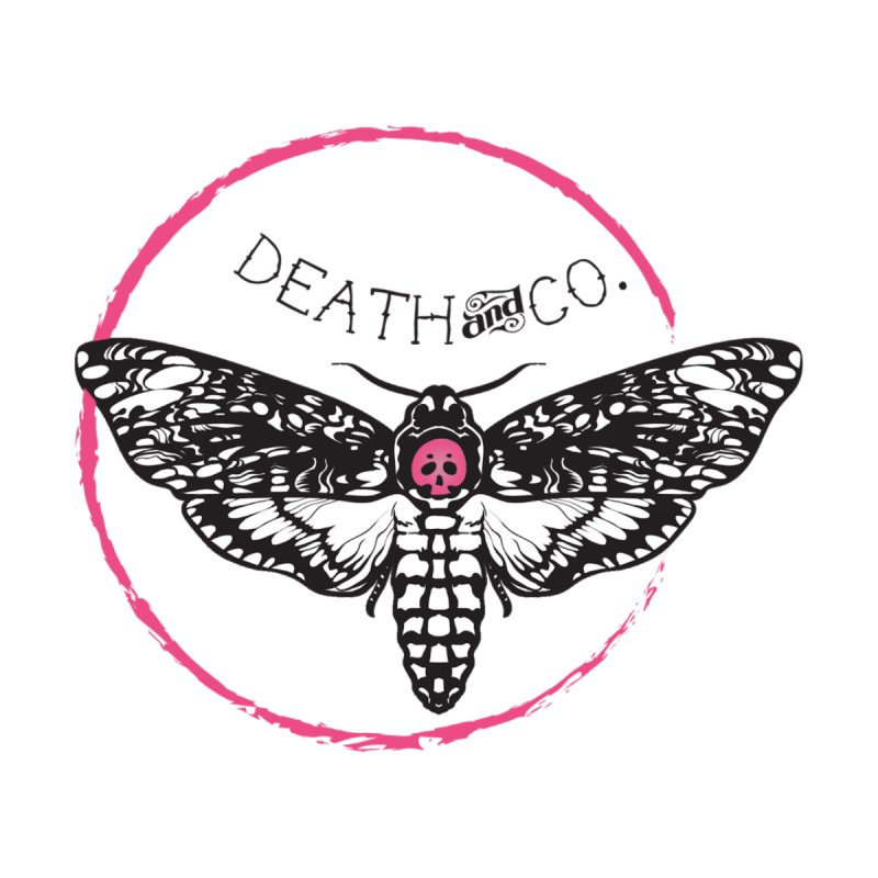 Moth Logo Accessories Sticker by deathandcopodcast's Artist Shop