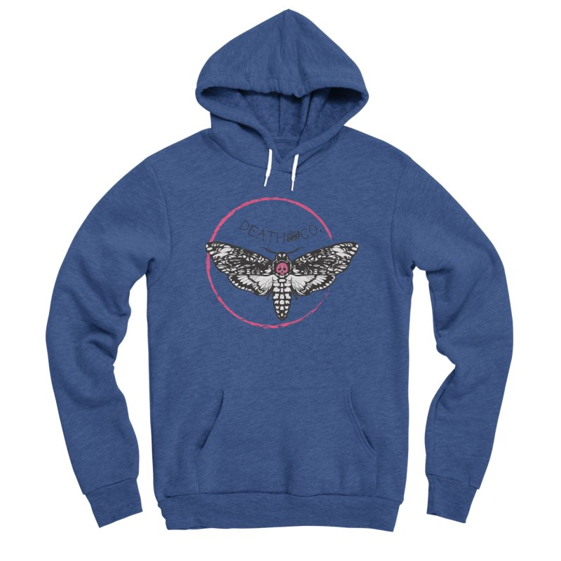 Moth Logo Women's Pullover Hoody by deathandcopodcast's Artist Shop
