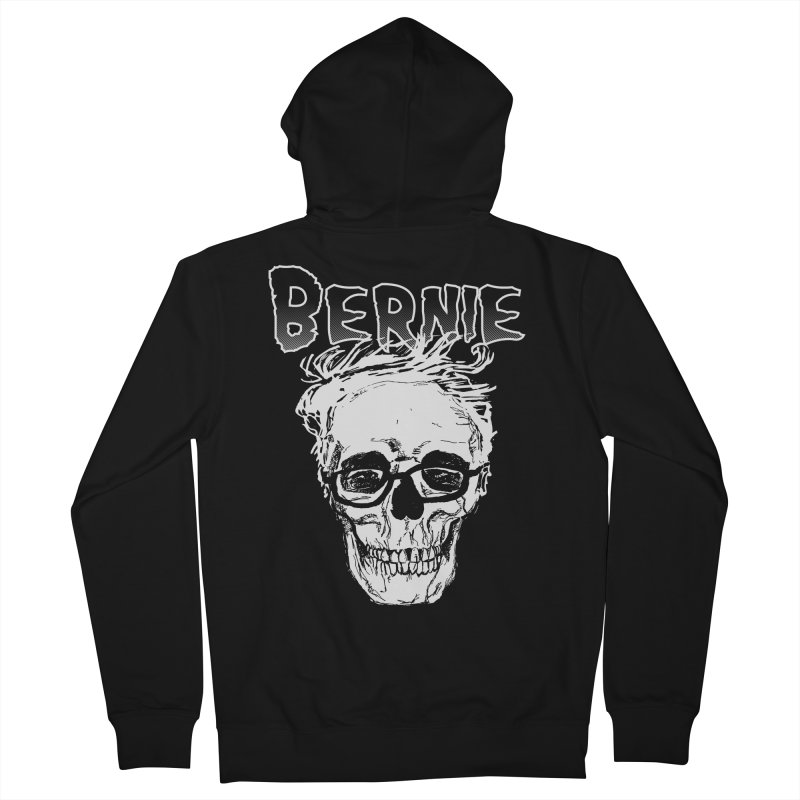Bernie Sanders Misfits Women's French Terry Zip-Up Hoody by deathandtaxes's Artist Shop