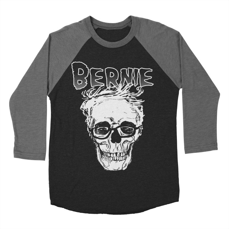 Bernie Sanders Misfits Men's Baseball Triblend T-Shirt by deathandtaxes's Artist Shop
